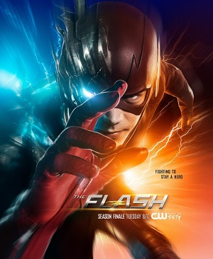 The Flash season 3 poster The CW channel