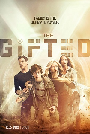 The Gifted season 1 poster FOX channel