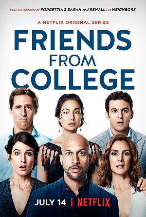Friends from College season 1 poster Netflix channel
