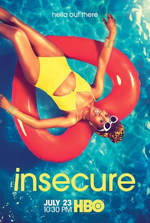 Insecure season 2 poster HBO channel