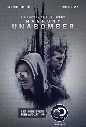 Manhunt The Unabomber season 1 poster Discovery channel