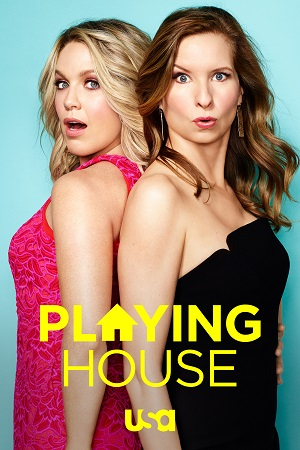 Playing House season 3 poster USA Network channel