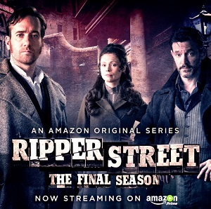 Ripper Street season 5 poster Amazon Video