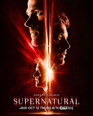 Supernatural season 13 poster The CW channel