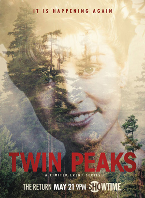 Twin Peaks season 1 poster Showtime channel