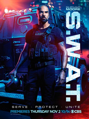 S.W.A.T. season 1 poster CBS channel