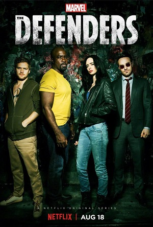 The Defenders season 1 poster Netflix channel