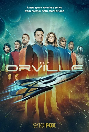 The Orville season 1 poster FOX channel