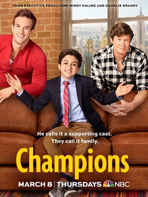 Champions poster season 1 NBC channel