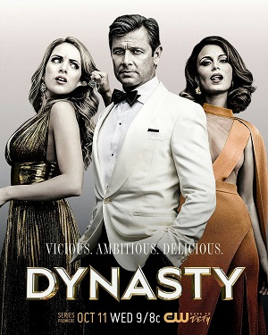 Dynasty season 1 poster The CW channel