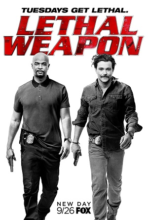 Lethal Weapon poster season 2 FOX channel
