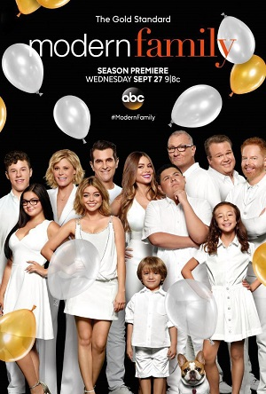Modern Family season 9 poster ABC channel