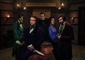 Quacks season 1 poster BBC Two channel