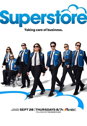 Superstore season 3 poster NBC channel