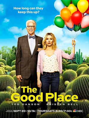 The Good Place season 2 poster NBC channel