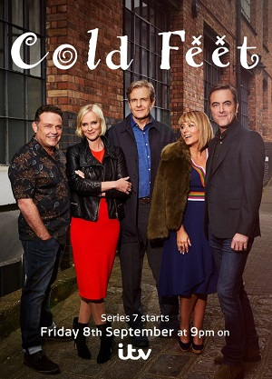Cold Feet season 7 poster ITV channel
