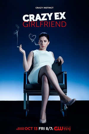 Crazy Ex-Girlfriend season 3 poster The CW channel