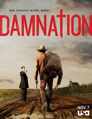 Damnation poster season 1 USA Network