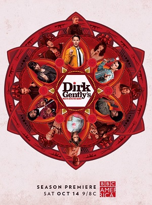 Dirk Gently's Holistic Detective Agency season 2 poster BBC America channel
