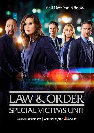 Law & Order: Special Victims Unit season 19 poster NBC channel