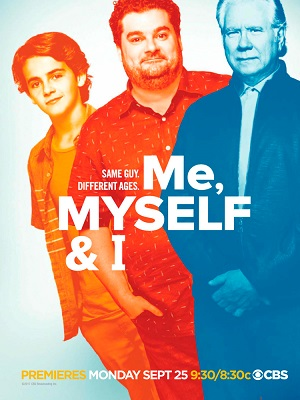 Me, Myself and I season 1 poster CBS channel