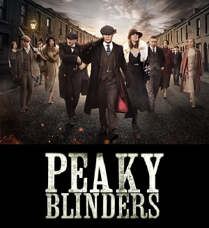 Peaky Blinders season 4 poster BBC Two channel