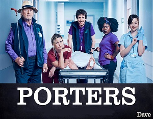 Porters season 1 poster Dave channel