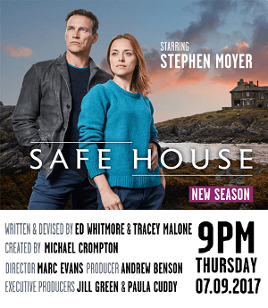 Safe House season 2 poster ITV channel