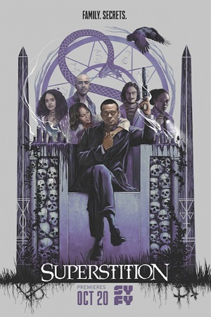 Superstition season 1 poster SyFy channel