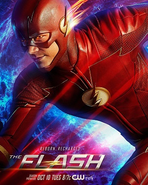 The Flash season 4 poster The CW channel