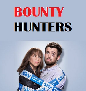 Bounty Hunters season 1 poster Sky 1 channel