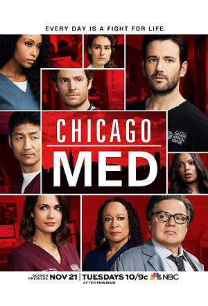 Chicago Med season 3 poster NBC channel