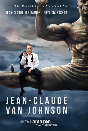 Jean-Claude Van Johnson season 1 poster Amazon Video