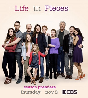 Life in Pieces season 3 poster CBS channel