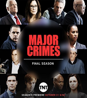 Major Crimes season 6 poster TNT channel