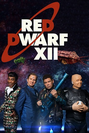 Red Dwarf season 12 poster Dave channel
