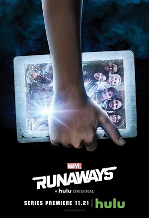 Runaways season 1 poster Hulu channel