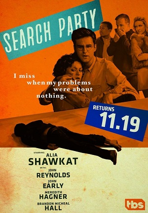 Search Party season 2 poster TBS channel