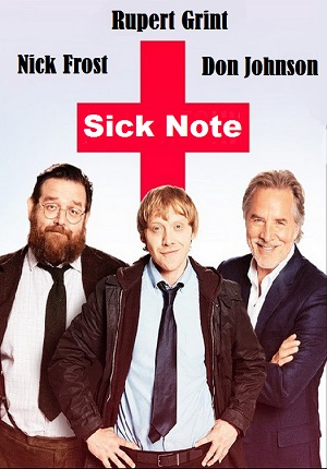 Sick Note season 1 poster Sky 1 channel