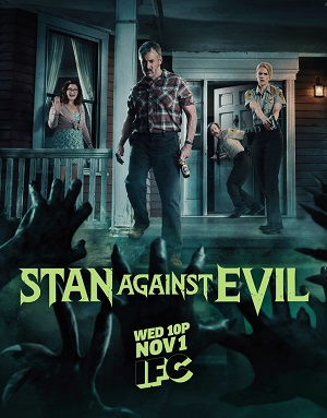 Stan Against Evil season 2 poster IFC channel