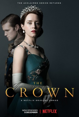 The Crown season 2 poster Netflix channel