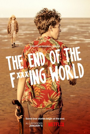 The End of the Fuking World season 1 poster Netflix channel
