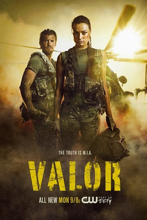 Valor season 1 poster The CW channel