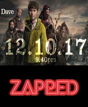 Zapped season 2 poster Dave channel