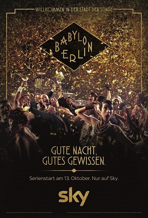 Babylon Berlin season 1 poster Sky channel