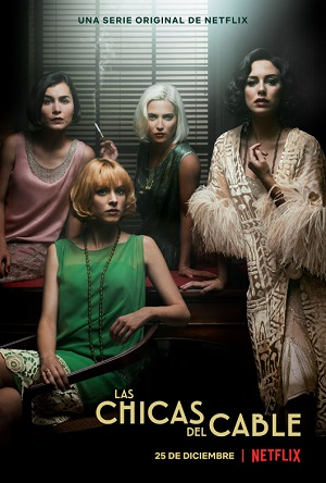 Cable Girls season 2 poster Netflix channel