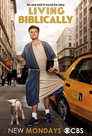 Living Biblically season 1 poster CBS channel
