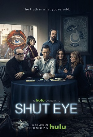 Shut Eye season 2 poster Hulu channel