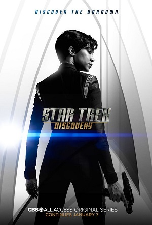 Star Trek Discovery season 1 american tv series on CBS channel