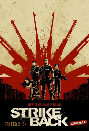 Strike Back season 6 poster Cinemax channel